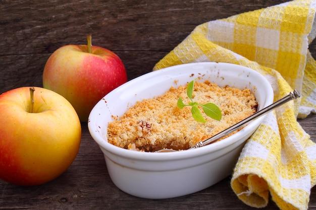 Placek jabłkowy