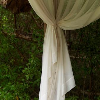 Placencia, curtain