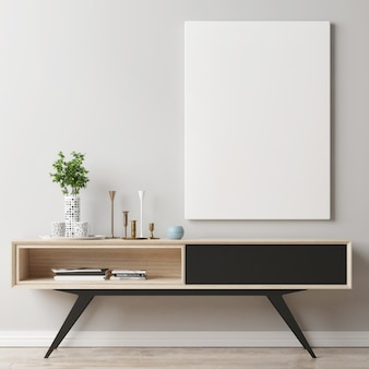 Plakat na biurko z dekoracją do domu
