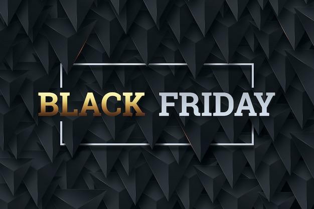 Plakat sprzedaż czarny piątek