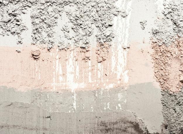 Plama gliny w widoku z góry
