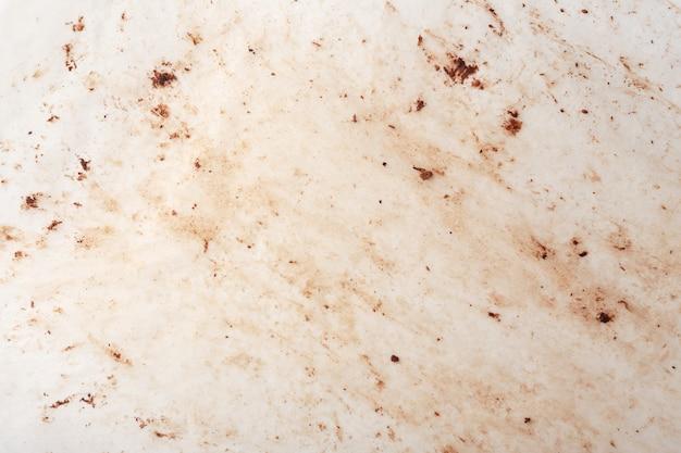 Plamy czekolady na papierze do pieczenia tekstury i tła