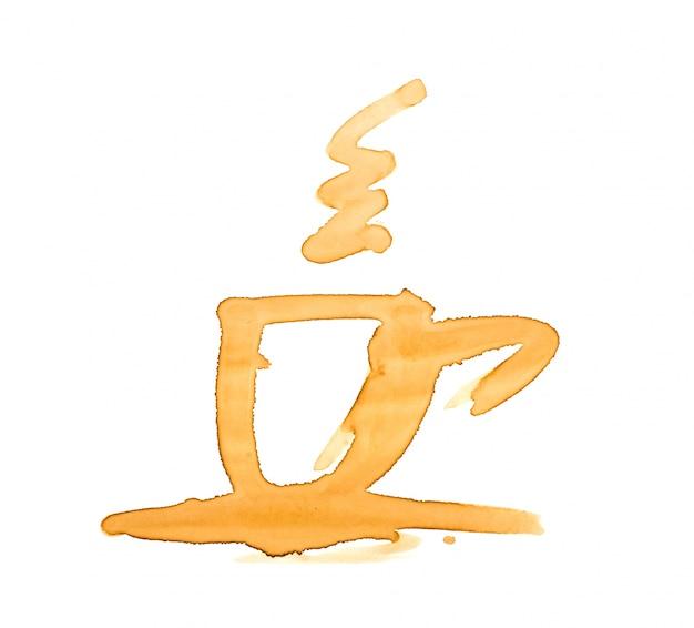 Plamy kawy