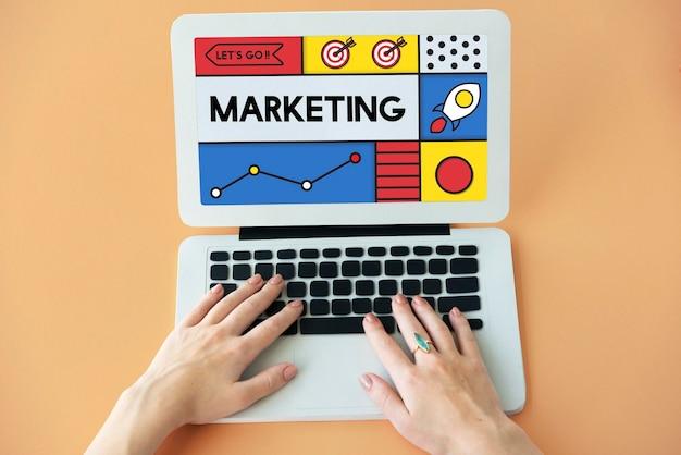 Plan marketingowy strategia handlowa biznes