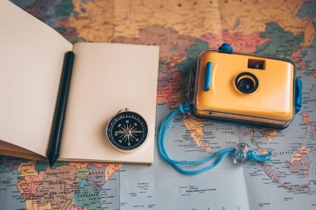Planista do zrobienia dla podróży