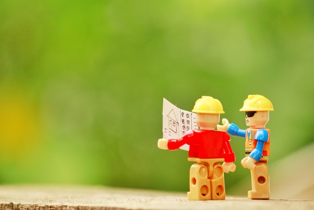 Plany budynków lego dioramy
