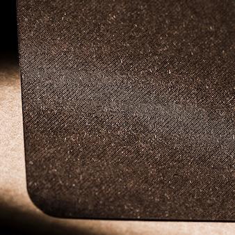 Płaska konstrukcja teksturowanego materiału z bliska