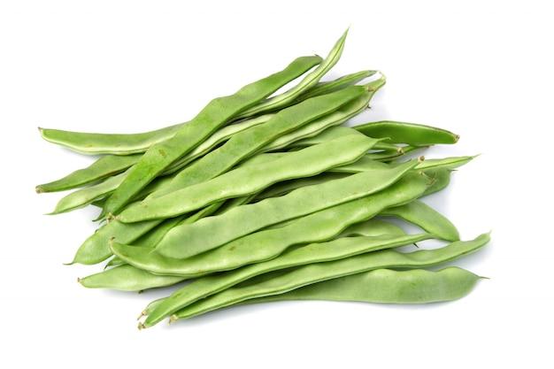 Płaska zielona fasola
