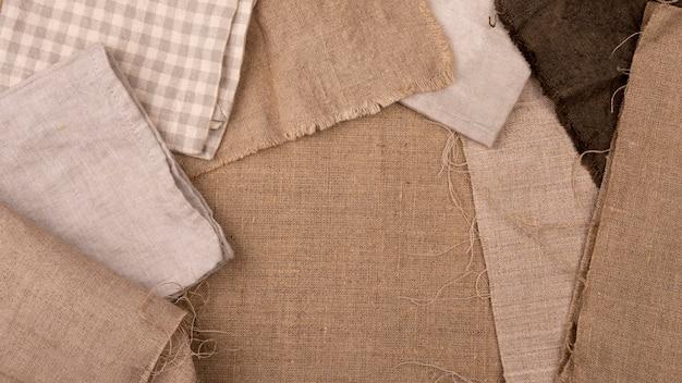 Płaski układ monochromatycznej selekcji tekstyliów