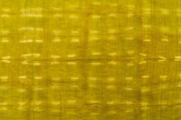 Płaski układ tkaniny tie-dye