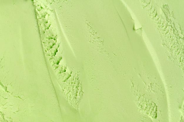 Płaskie leżał monochromatyczne lody zbliżenie