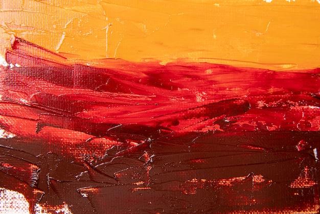 Płaskie tło z farbą akrylową