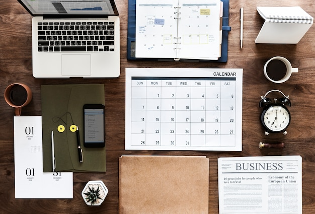 Płaskie układanie agendy biznesowej