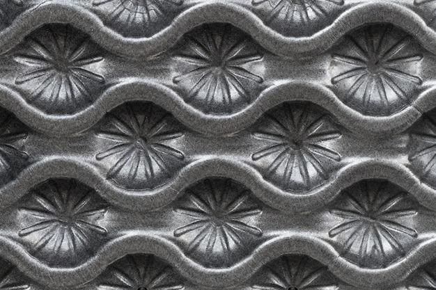Płasko leżała abstrakcyjna szara powierzchnia