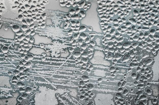 Płasko leżała zamrożona tapeta powierzchniowa