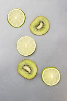 Plasterki kiwi i limonki