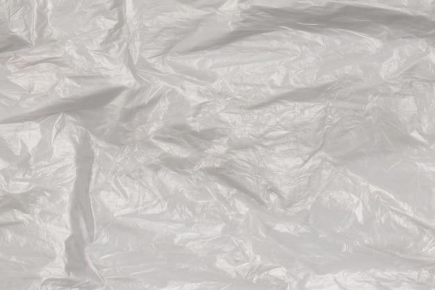 Plastik biały. widok z góry