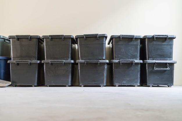 Plastikowa skrzynka do przechowywania