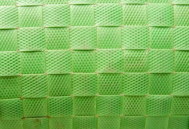 Plastikowa tkana torba tekstura tło