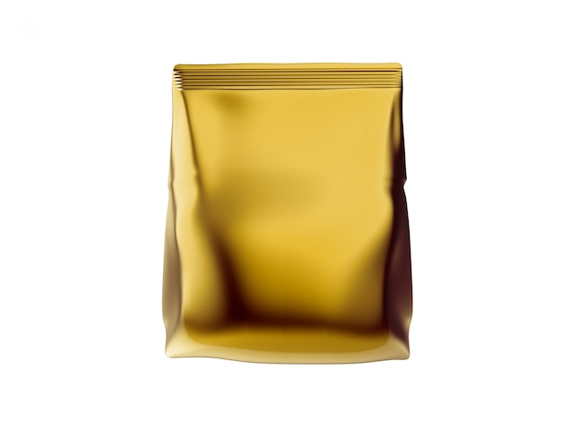 Plastikowa torebka makieta