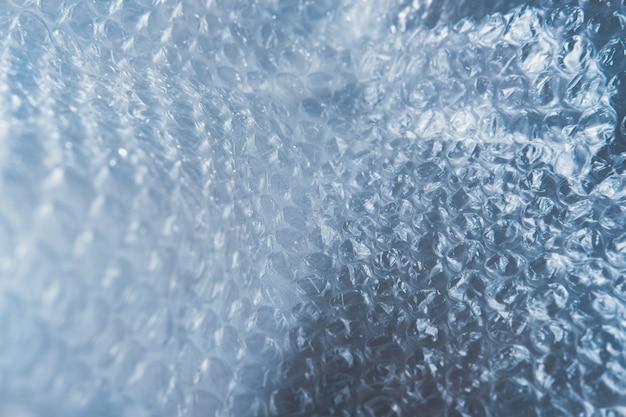 Plastikowy bąbelek zawija tekstury tło