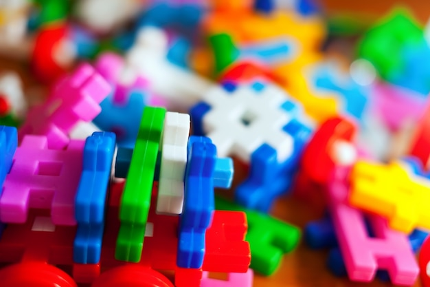 Plastikowy zestaw eccano