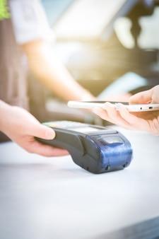 Płatności za pośrednictwem telefonów komórkowych, mobilne płatności skanowania, płatności bezpośrednie,
