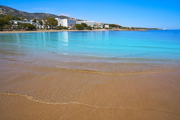 Playa de las fuentes plaża w alcossebre