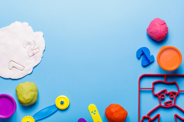 Playdough items montessory play kids play