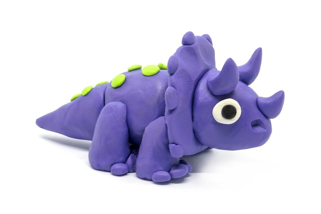 Playdough triceratopson
