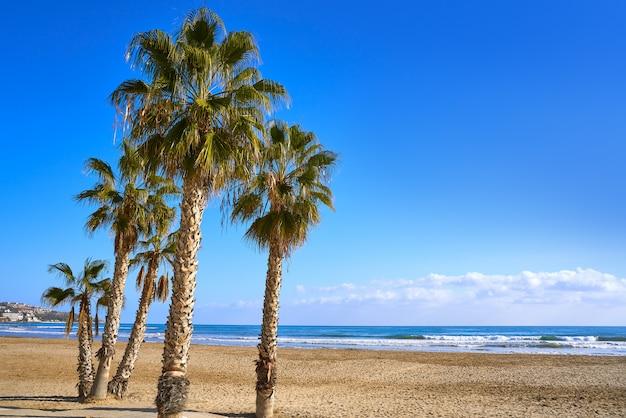 Plaża benicassim torre sant vicent