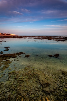 Plaża corrales, długopisy rybne, rota, cadiz, hiszpania