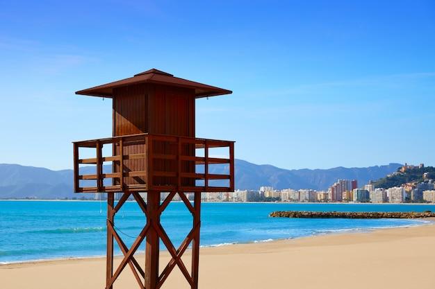 Plaża cullera playa los olivos walencja w hiszpanii
