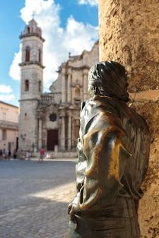 Plaza de la catedral w la habana