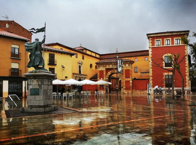 Plaza de santo martino leon hiszpania