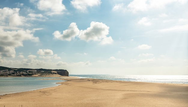 Plaża foz do arelho w portugalii?