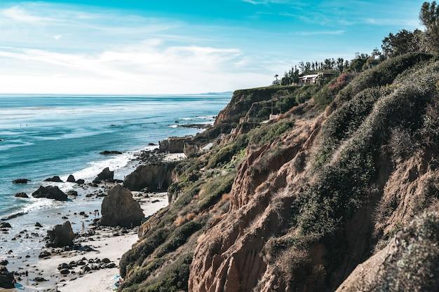 Plaża i ziemia