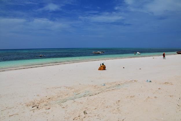 Plaża nungwi na wyspie zanzibar
