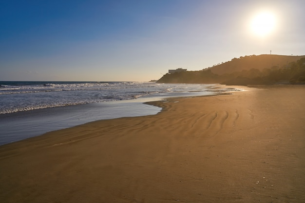 Plaża oropesa de mar la concha castellon