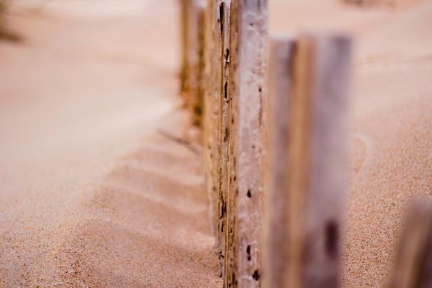 Plaża płot