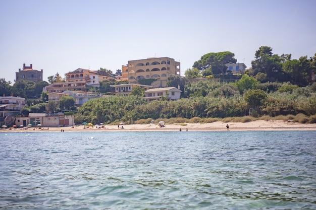 Plaża porticello zaczerpnięta z morza?