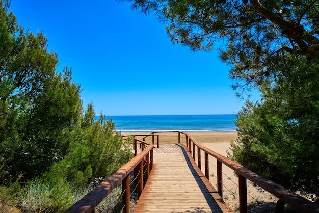 Plaża romana w alcossebre lub alcoceber