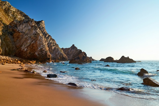 Plaża ursa w portugalii