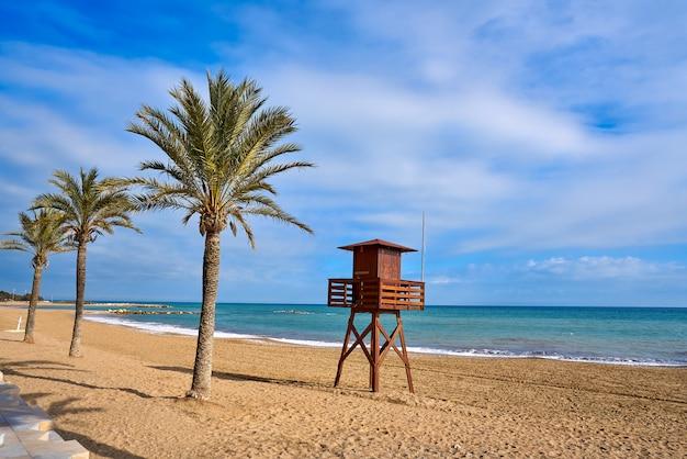 Plaża vinaroz playa del forti w castellon