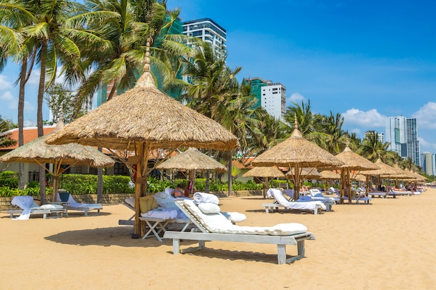 Plaża w nha trang, wietnam