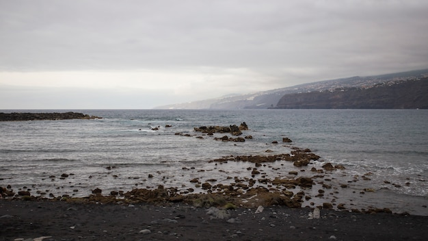 Plaża w puerto de la cruz.