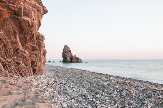Plaża z kamykami