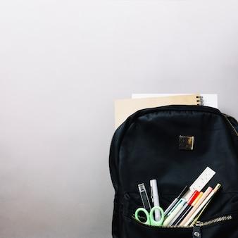 Plecak z wyposażeniem szkolnym