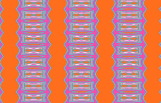Plemienny kolorowy geometryczny wzór minimalistyczny geometryczny plakat z grafiką pełen kolorów z prostym