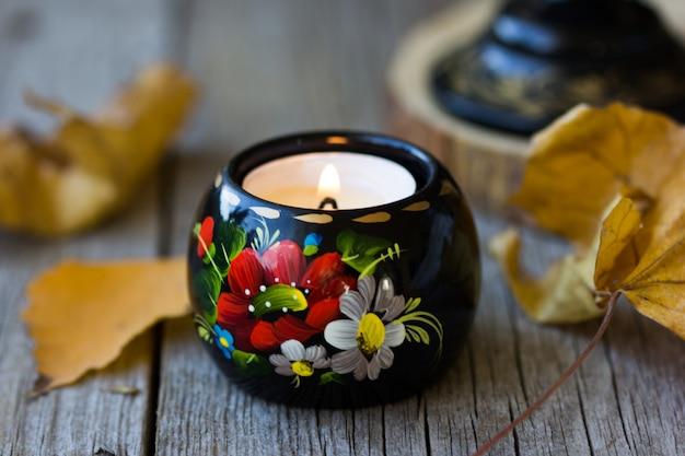 Płonąca świeca